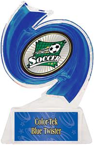 BLUE TROPHY/BLUE TWISTER LABEL/XTREME MYLAR