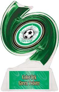 GREEN TROPHY/GREEN TWISTER LABEL/ALL-STAR MYLAR
