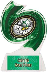 GREEN TROPHY/GREEN TWISTER LABEL/BUST-OUT MYLAR