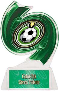 GREEN TROPHY/GREEN TWISTER LABEL/ECLIPSE MYLAR