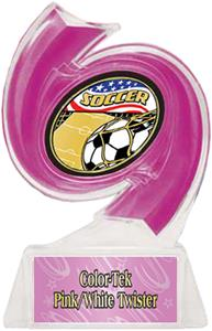 PINK TROPHY/PINK TWISTER LABEL/AMERICANA MYLAR