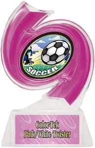 PINK TROPHY/PINK TWISTER LABEL/HD MYLAR