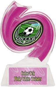 PINK TROPHY/PINK TWISTER LABEL/SHIELD MYLAR