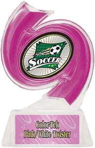 PINK TROPHY/PINK TWISTER LABEL/XTREME MYLAR