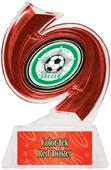 "Hasty Awards Soccer Hurricane Ice 6"" Trophy"