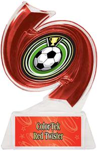 RED TROPHY/RED TWISTER LABEL/ECLIPSE MYLAR