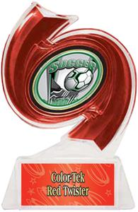 RED TROPHY/RED TWISTER LABEL/PROSPORT MYLAR