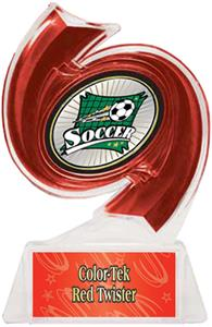 RED TROPHY/RED TWISTER LABEL/XTREME MYLAR