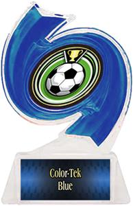 BLUE TROPHY/BLUE TEK LABEL/ECLIPSE MYLAR