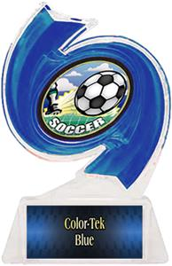 BLUE TROPHY/BLUE TEK LABEL/HD MYLAR