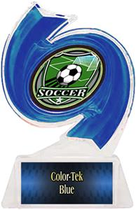 BLUE TROPHY/BLUE TEK LABEL/SHIELD MYLAR