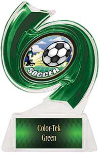 GREEN TROPHY/GREEN TEK LABEL/HD MYLAR