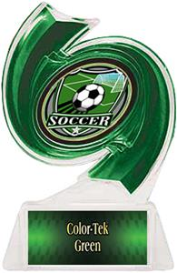 GREEN TROPHY/GREEN TEK LABEL/SHIELD MYLAR