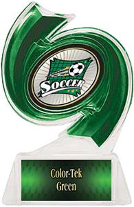 GREEN TROPHY/GREEN TEK LABEL/XTREME MYLAR