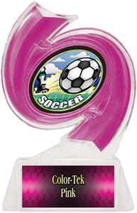 PINK TROPHY/PINK TEK LABEL/HD MYLAR