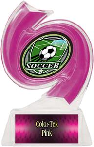 PINK TROPHY/PINK TEK LABEL/SHIELD MYLAR