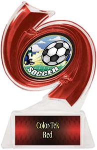 RED TROPHY/RED TEK LABEL/HD MYLAR