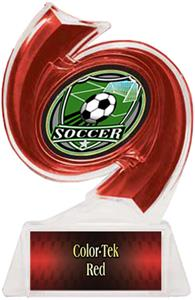 RED TROPHY/RED TEK LABEL/SHIELD MYLAR