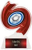 """Hasty Awards Volleyball Hurricane Ice 6"""" Trophy"""