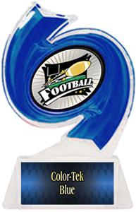 BLUE TROPHY/BLUE TEK LABEL - XTREME MYLAR