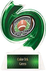 GREEN TROPHY/GREEN TEK LABEL - SHIELD MYLAR