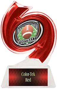 RED TROPHY/RED TEK LABEL - SHIELD MYLAR