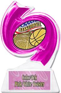 PINK TROPHY/PINK TWISTER LABEL - AMERICANA MYLAR