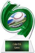 """Hasty Awards Baseball Hurricane Ice 6"""" Trophy"""
