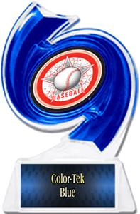 BLUE TROPHY/BLUE TEK PLATE - ALL-STAR MYLAR