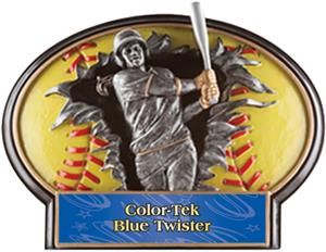 SILVER TWISTER COLOR-TEK PLATE