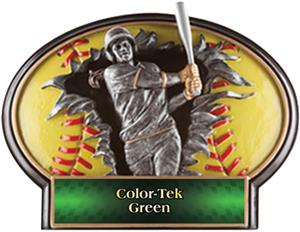 GREEN COLOR-TEK LABEL