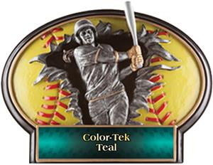 TEAL COLOR-TEK LABEL