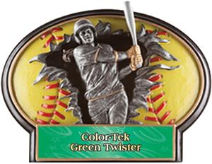 GREEN TWISTER COLOR-TEK LABEL