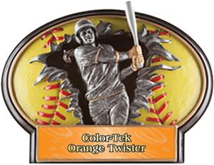 ORANGE TWISTER COLOR-TEK LABEL