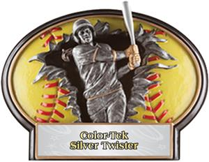 SILVER TWISTER COLOR-TEK LABEL