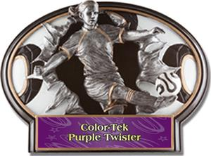 PURPL COLOR-TEK TWISTER LABEL