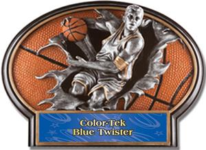 BLUE COLOR-TEK TWISTER LABEL
