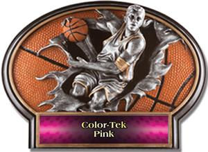 PINK COLOR-TEK LABEL