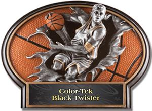 BLACK COLOR-TEK TWISTER LABEL