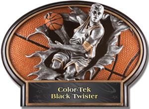 BLACK COLOR-TEK TWISTER LABEL