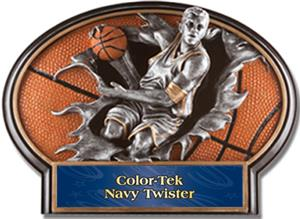 NAVY COLOR-TEK TWISTER LABEL