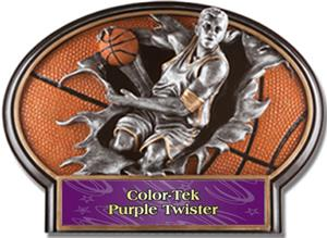 PURPLE COLOR-TEK TWISTER LABEL