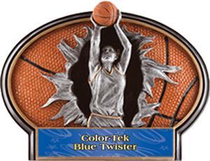 BLUE COLOR-TEK TWISTER LABEL