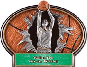GREEN COLOR-TEK TWISTER LABEL
