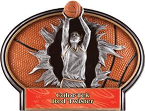 RED COLOR-TEK TWISTER LABEL