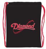 "Diamond 13""x17"" Drawstring Cinch Pack"