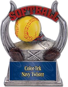 NAVY COLOR-TEK TWISTER PLATE