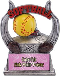 PINK/WHITE COLOR-TEK TWISTER PLATE