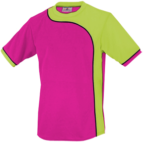 403-FUCHSIA/FLUORESCENT GREEN/BLACK PIPING (FCH/FG