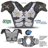 All-Star Catalyst Youth Football Shoulder Pads